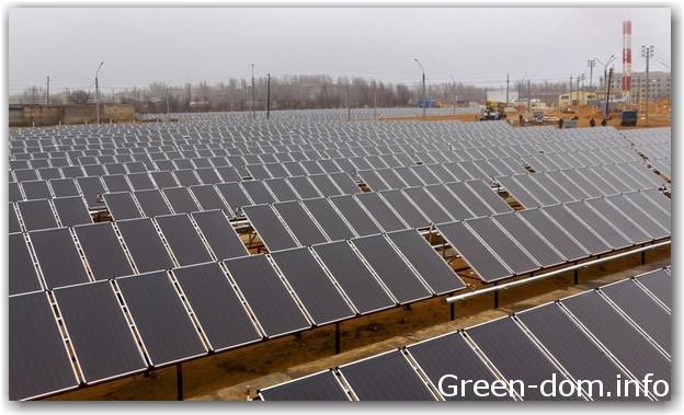 Астрахань солнечные батареи